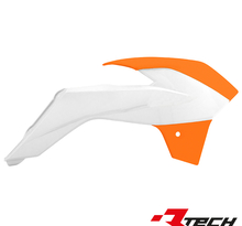 Kylarvingar KTM SX85 OEM 13-> Vit/Orange