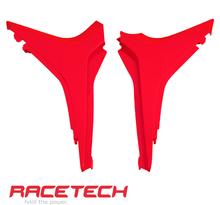 Rtech, Luftburks Sidopaneler, RÖD, Honda 09-12 CRF450R, 10-13 CRF250R