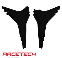 Rtech, Luftburks Sidopaneler, SVART, Honda 09-12 CRF450R, 10-13 CRF250R