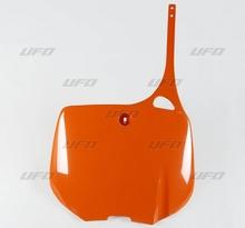 Nummerplåt UFO KTM125-620 93-98 orange 127