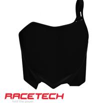 Rtech, Nummerplåt, SVART, Honda 09-12 CRF450R, 10-13 CRF250R, SHERCO 16-17 450 SEF, 16-17 250 SE/250 SEF/300 SE/300 SEF