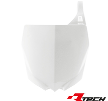 Rtech, Nummerplåt, VIT, Yamaha 10-17 YZ450F, 15-21 YZ250, 10-18 YZ250F, 15-21 YZ125