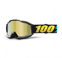 100%, ACCURI GOGGLE VIRGO - MIRROR GOLD LENS, VUXEN
