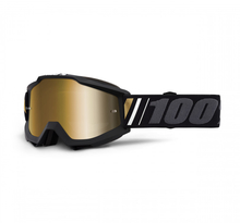 100%, ACCURI GOGGLE OFF - MIRROR TRUE GOLD LENS, VUXEN