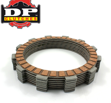 DP Brakes, Friktionslameller, KTM 12-21 450 EXC-F/450 SX-F, 18-21 250 EXC TPI/300 EXC TPI, 13-17 250 EXC/300 EXC, 14-21 250 EXC-F, 13-21 250 SX, 13-15 250 SX-F, 12-21 350 EXC-F, 10-15 350 SX-F, 12-16 500 EXC, 17-21 500 EXC-F, Husqvarna 14-21 FC 450/FE 450