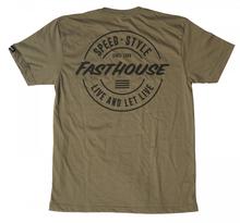 Fasthouse, T-Shirt HORIZON, VUXEN, XL, GRÖN
