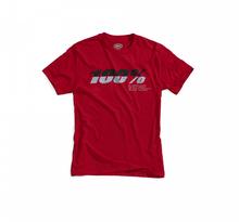 100%, BRISTOL Tee-shirt, VUXEN, XL, RÖD