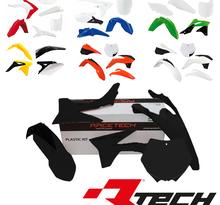 Rtech, Plastkit, SVART, KTM 07-10 450 SX-F, 07-10 250 SX/250 SX-F, 07-10 125 SX, 07-08 505 SX-F