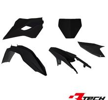Rtech, Plastkit, SVART, Husqvarna 15-16 FE 450, 15-16 FE 250/TE 250, 15-16 FE 350, 15-16 TE 125/FE 501/TE 300