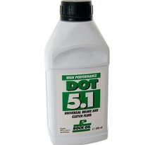 Rock Oil, Dot 5.1 broms olja (utan silikon), 500ml