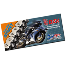 CZ Chains, Kedja, 120 Länkar, X-Ring, DZX, STREET, 530