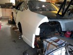 Nissan Skyline R33 - Rear panels