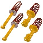 TA Technix sport suspension kit Mercedes C-Class 25/25mm