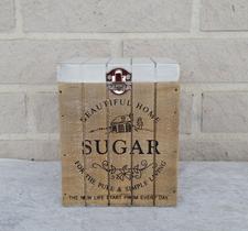 Sockerlåda B 13 H 16 cm