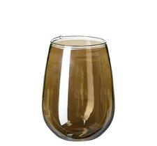 Hyde glas, 8xh12cm, bärnsten