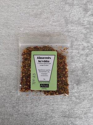 Krydda, Jägarmix, 25 gr, Aftek