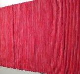 Löpare, röd, 40x140cm, 100% bomull