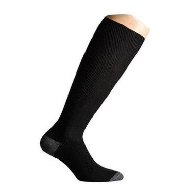 Chaussettes de compression Twist - noir et gris