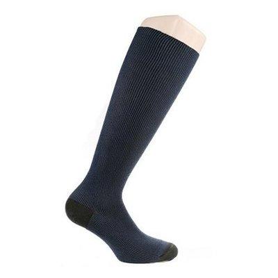 Chaussettes de contention Twist - bleu et noir