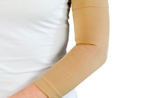 Elbow support/aid high compression