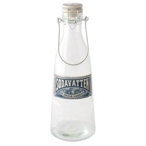 Glasflaska Soda, 1 liter