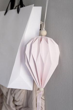 Pappballong - Rosa