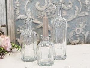 Deko glasflaska - Chic Antique