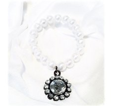 Pärlband med hänge till blockljus