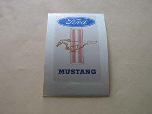 Mustang klistermärke/skattemärke