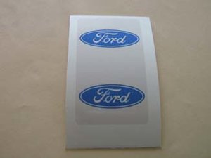 Ford klistermärke/skattemärke