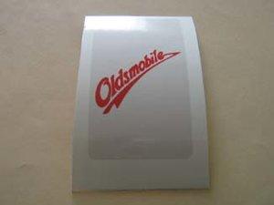 Oldsmobile klistermärke /skattemärke