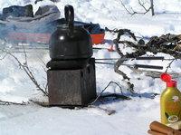 BBQ iron