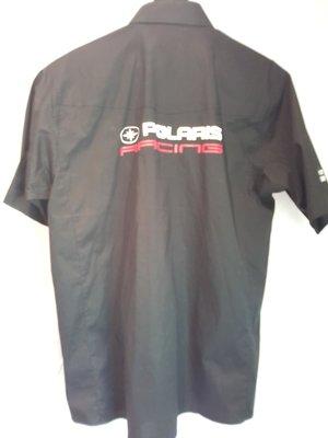 Skjorta Polaris Racing, svart XL