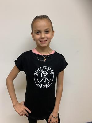 Svart T-shirt Skating & Dance Academy