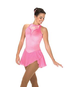 Rosa ärmlös klänning