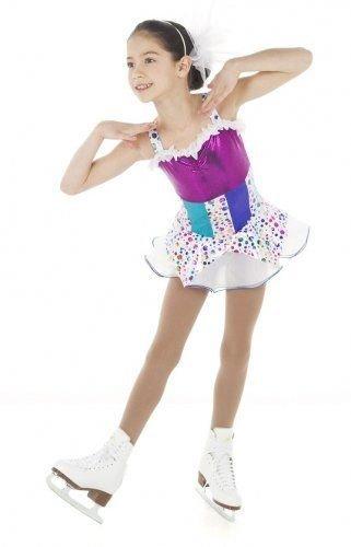 Prickig klänning med tyllkjol från elitexpression