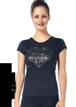 T-shirt från Sagester med silvertext