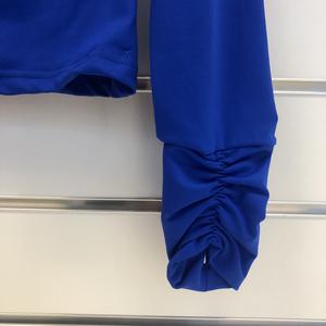 Kornblå jacka i funtionsmaterial