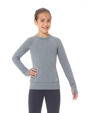 Varm och skön träningströja i grått