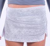 Ljusgrå kjol Bali från Moka