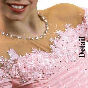 Rosa klänning