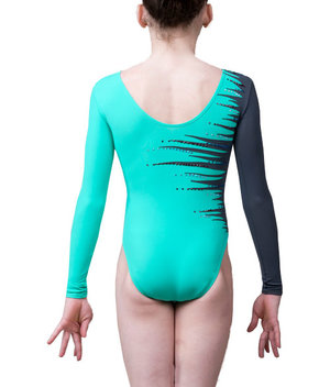 Långärmad gymnastikdräkt  från RG Leotard