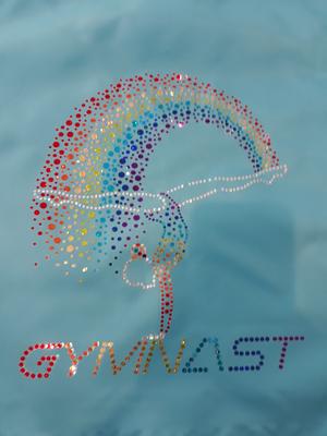 Gymnastikpåse som kan tryckas - konståkning, gymnastik, dans och cheer