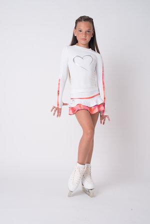Vit långärmad tröja från Thuono