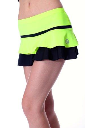 Neonfärgad kjol i rosa, gult eller orange från Thuono