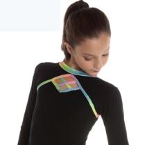 Svart/glitter färgad tröja Kite  från Logos