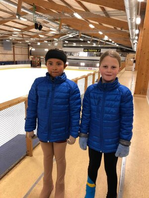 Varm klubbjacka Skating & Dance Academy