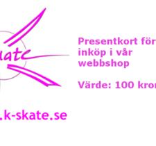 Presentkort 100:-