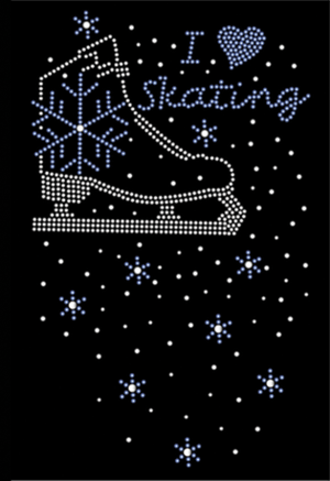 Byxor med swarovskikristaller med olika mönster från CloeNoel