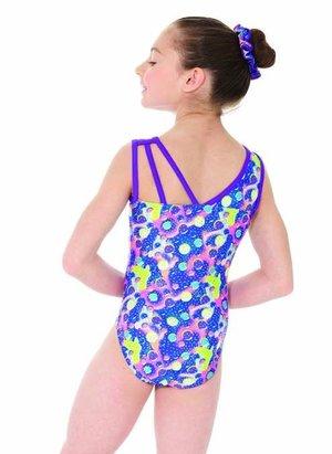 Gymnastikdräkt med fin rygg